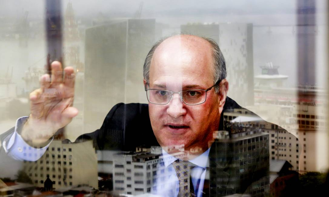 Após três anos no comando do Banco Central, Ilan Goldfajn será substituído por Roberto Campos Neto Foto: Marcos Ramos / Agência O Globo