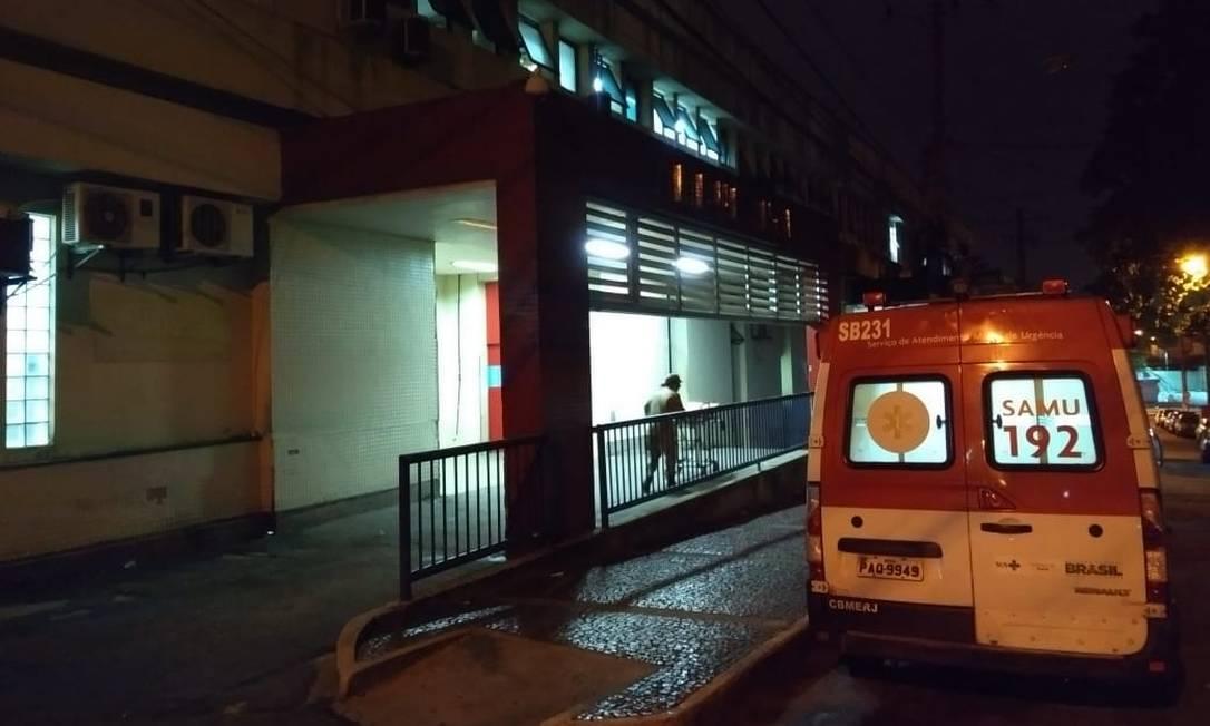 Vítimas foram levadas para o Hospital Getúlio Vargas Foto: Lívia Neder