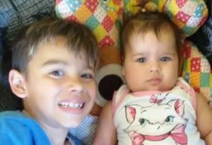 Miguel e Maria Luiza estão entre as vítimas de deslizamentos de terra em Mauá Foto: Facebook/Reprodução