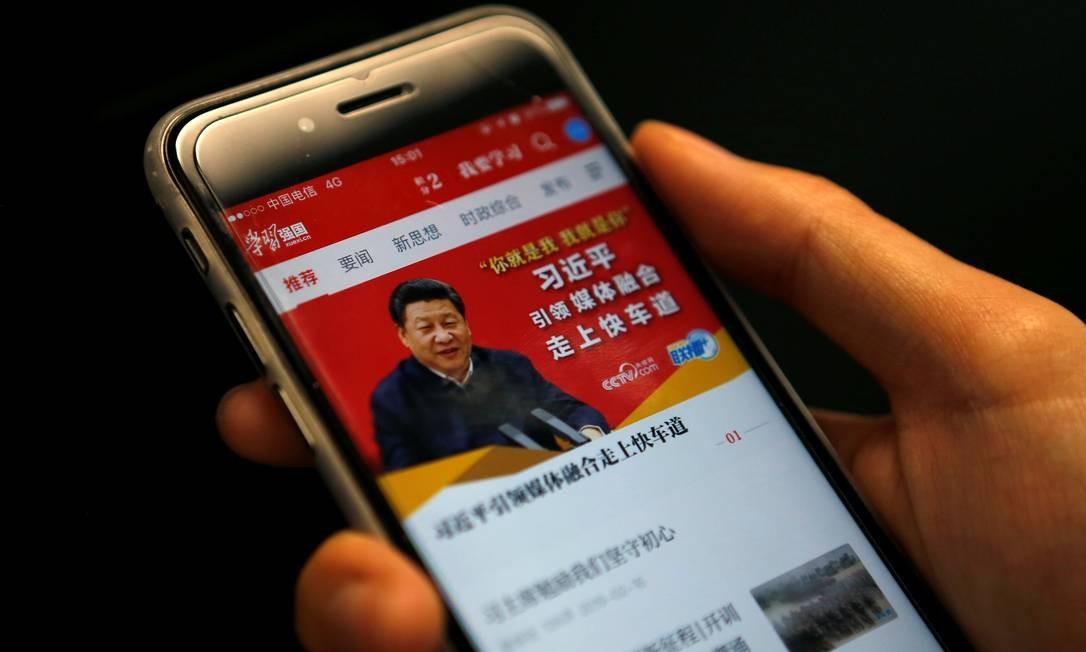 O aplicativo: mais de 40 milhões de downloads na China. Foto: STAFF / REUTERS