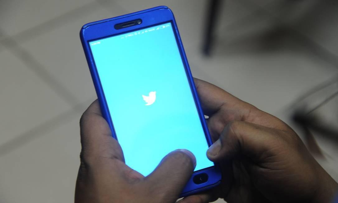 Publicidade para instalação de apps cresceu mais de 30% ao ano, segundo pesquisa. Foto: DIPTENDU DUTTA / AFP
