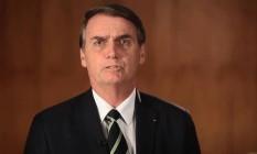 Após exoneração, Bolsonaro divulga vídeo com elogios a Bebianno Foto: Reprodução