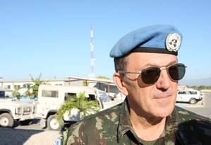 General Floriano Peixoto foi comandante da Minustah-Haiti 21/01/2010 Foto: Aílton de Freitas / Agência O GLOBO