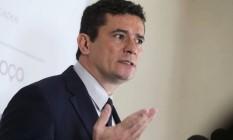 O ministro da Justiça, Sergio Moro Foto: AMANDA PEROBELLI / REUTERS