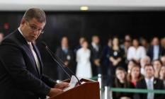 A exoneração de Gustavo Bebianno foi confirmada nesta segunda-feira; ele comandava a Secretaria-Geral da Presidência Foto: Marcos Corrêa