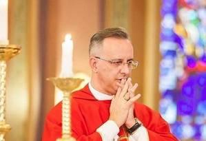 O padre Pedro Leandro Ricardo, de Americana (SP), foi afastado de suas funções na Diocese de Limeira por tempo indeterminado, após escândalo de abuso sexual Foto: Reprodução