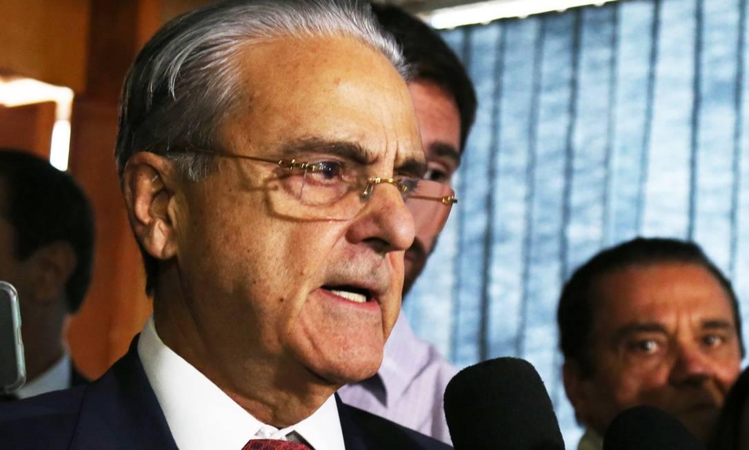 Robson Andrade, presidente da CNI, foi preso nesta terça-feira Foto: Givaldo Barbosa / Agência O Globo