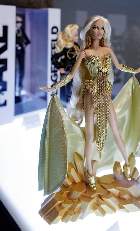 Alta moda pop: Lagerfeld criou até Barbie Foto: Eduardo Parra / Getty Images