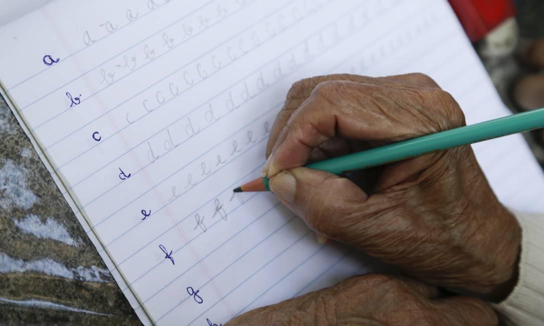 Governo colocou alfabetização como uma das principais medidas para início de governo Foto: Gabriel de Paiva / Agência O Globo (10/09/2018)