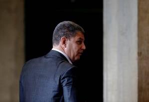 Bebianno foi o primeiro ministro a cair Foto: ADRIANO MACHADO / REUTERS