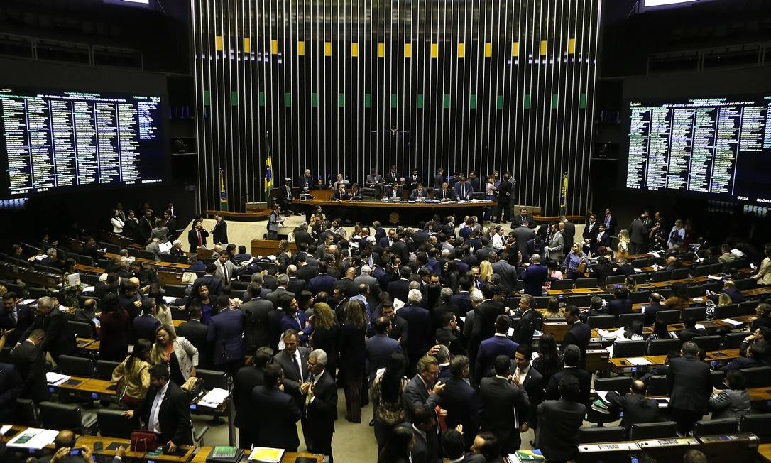 Câmara derruba decreto do governo sobre sigilo de documentos Foto: Jorge William / Agência O Globo