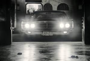 O Ford Galaxie 500 na cena da garagem Foto: Reprodução / Jason Vogel