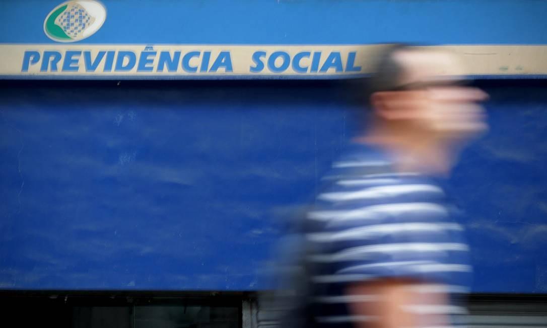 EC - Rio, 05/12/2018, Previdência Social - Agência da Previdência Social na Avenida Marechal Floriano, no Centro. Foto: Márcio Alves / Agência O Globo Foto: Márcio Alves / Agência O Globo