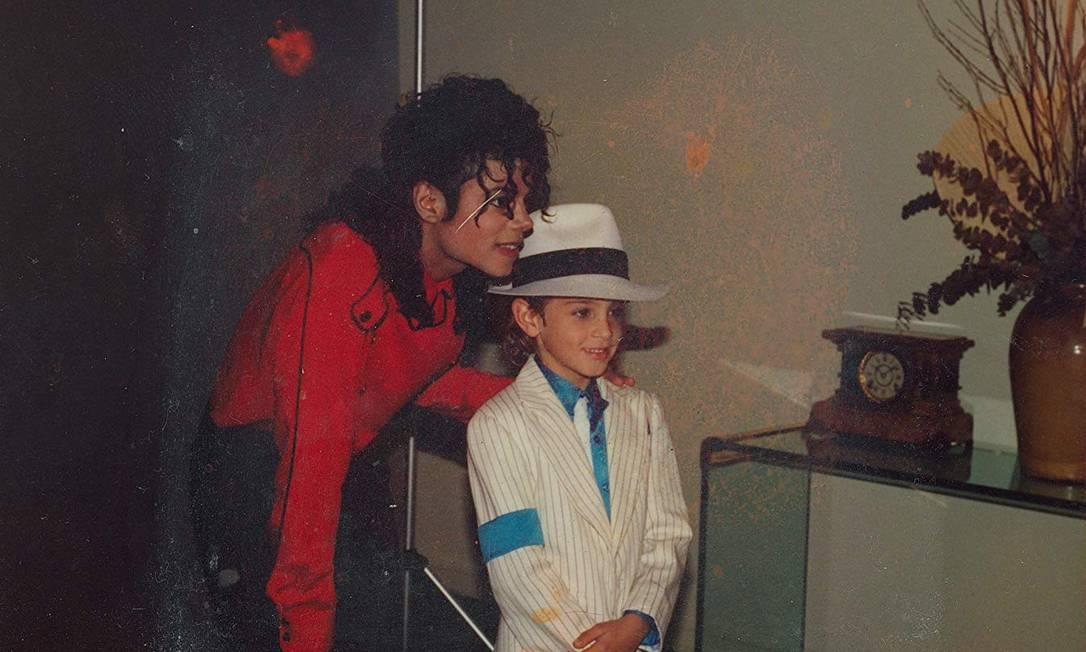 Michael Jackson e Wade Robson no documentário 'Leaving Neverland' (2019) Foto: Divulgação
