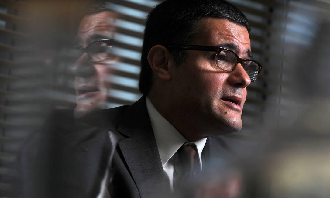 Mário Mesquita, economista-chefe do Itaú Unibanco, prevê queda de 4,5% do PIB em 2020, podendo chegar a 7% Foto: Silvia Costanti / Agência O Globo