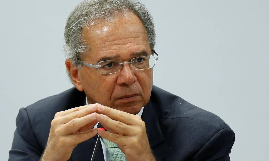 O ministro da Economia, Paulo Guedes, quer agilizar o lançamento da identidade única Foto: / Adriano Machado/Reuters