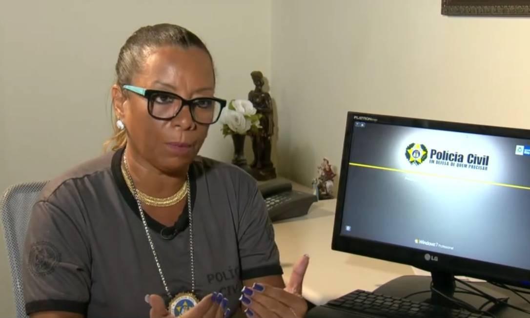 A Adriana Belém, ex-titular da 16ª DP (Barra da Tijuca) Foto: Terceiro / Agência O Globo
