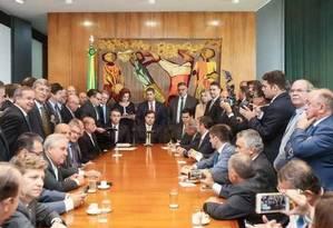 Servidores: proposta 'é uma declaração de guerra' Foto: Agência O Globo
