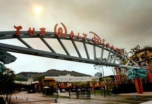Sede da Disney em Burbank, na Califórnia: de olho na Fox. Foto: REED SAXON / AP