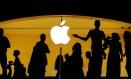 Apple Store em Nova York: cartão de crédito ajuda a aumentar a aposta no setor de serviços. Foto: Lucas Jackson / REUTERS