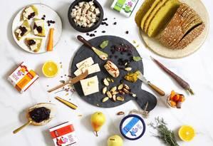 Meja vegana com queijos Nomoo Foto: Divulgação