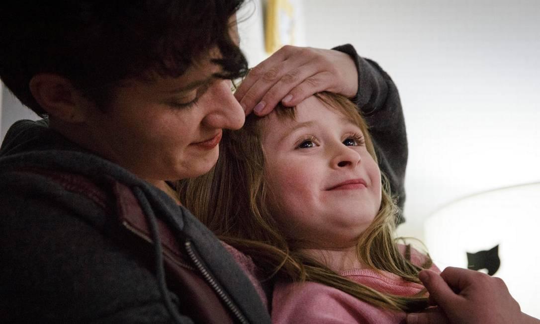 Daniela teve sua filha, Zoe, através de banco de esperma e descobriu quem era o doador Foto: Moriah Ratner / The New York Times