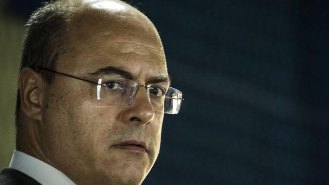 Witzel fez balanço com pendências Foto: Guito Moreto / Agência O Globo