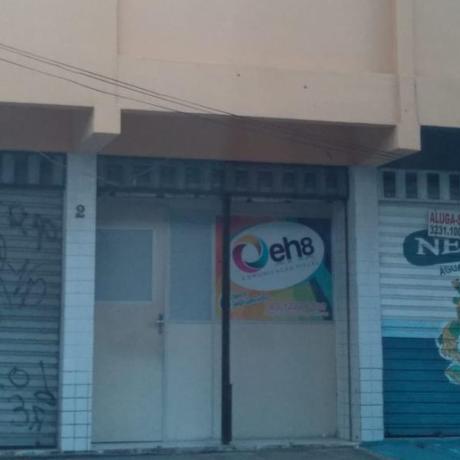 Gráfica EH8 que teria sido usada para imprimir os santinhos Foto: Agência O Globo