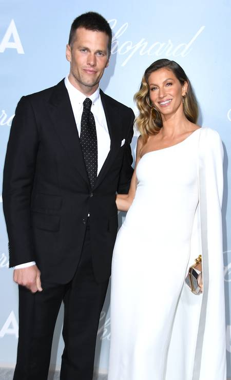 Tom Brady e Gisele Bündchen no Hollywood For Science Gala Foto: Steve Granitz / WireImage