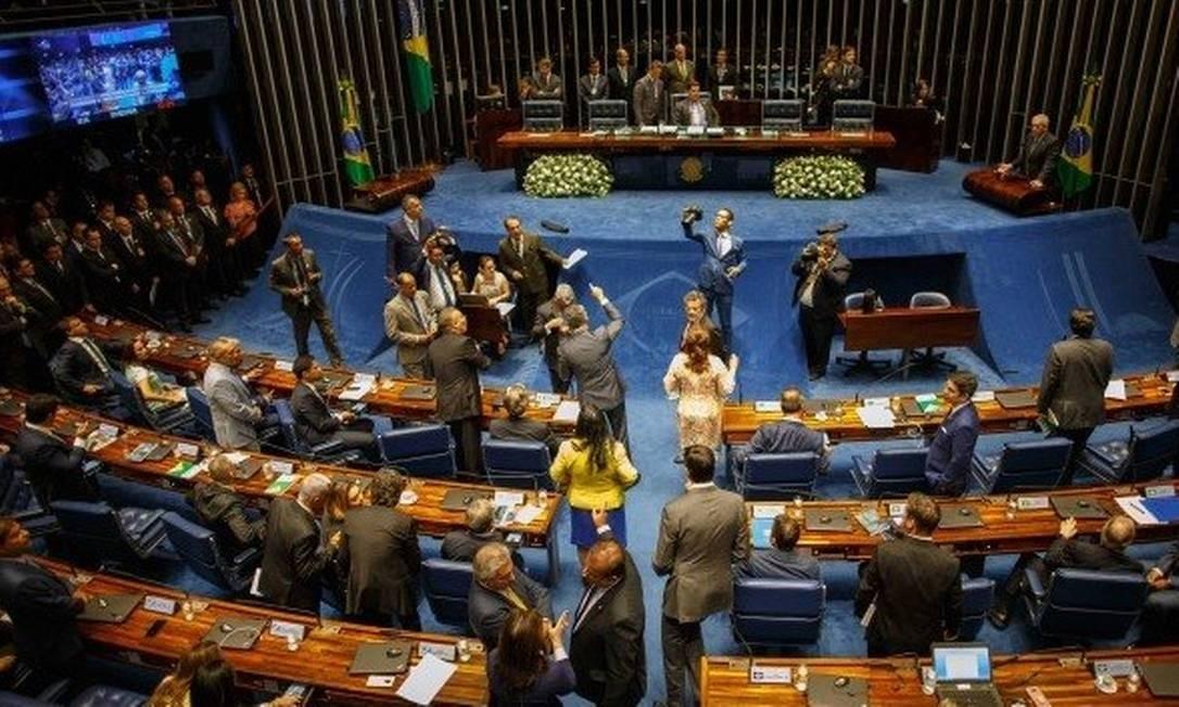 Senado: parlamentares antigos terão regras de transição Foto: / Daniel Marenco - Agência O Globo