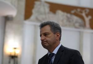 O presidente do Flamengo, Rodolfo Landim Foto: PILAR OLIVARES / REUTERS