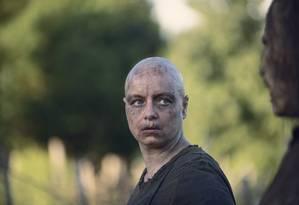 Samantha Morton como Alpha na nona temporada de 'The walking dead' Foto: Gene Page/AMC