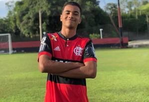 Arthur Vinícius tinha 14 anos e atuava como zagueiro Foto: Agência O Globo