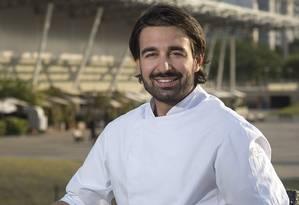 ZS. Toque de Chef. Novo chef do Bota Restaurante, o italiano Roberto Agostini. Foto: Alexander Landau / DIVULGAÇÃO/Alexander Landau