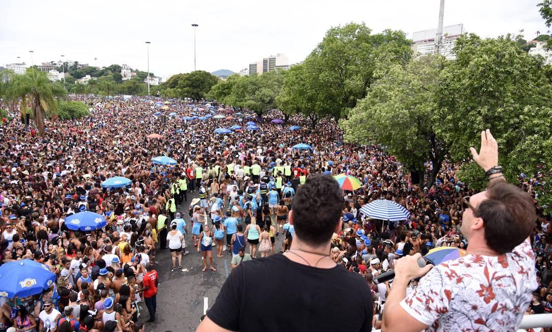 No ano passado, Aterro do Flamengo recebeu 800 mil pessoas, de acordo com a RioTur, durante o Chora Me Liga Foto: Alexandre Macieira / Agência O Globo