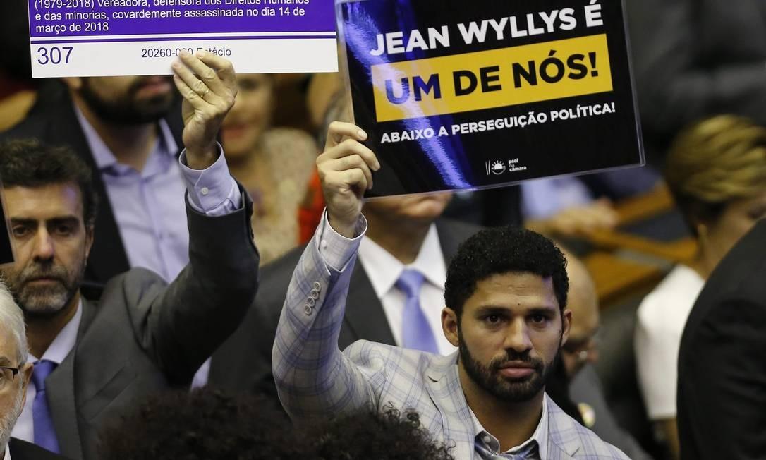 David Miranda (PSOL-RJ) é o suplente de Jean Wyllys, que desistiu de assumir o terceiro mandato na Câmara Foto: Jorge William / Agência O Globo
