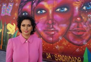 A grafiteira Panmela Castro Foto: Divulgação