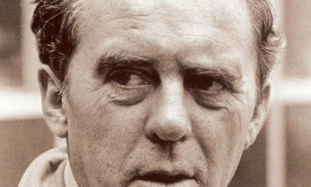 O escritor alemão Heinrich Böll: Nobel em 1972 Foto: Divulgação / Agência O GLOBO