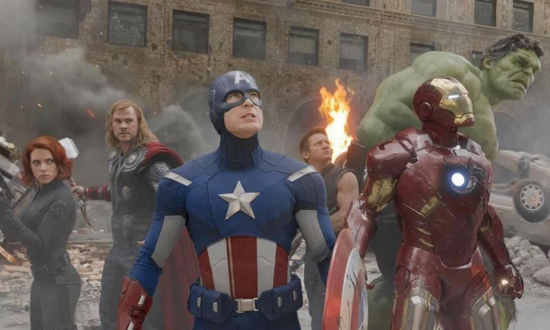 'Os Vingadores' (2012) Custou: US$ 220 milhões Rendeu nos EUA: US$ 636,3 milhões E pelo mundo: US$ 895,4 milhões Foto: Divulgação