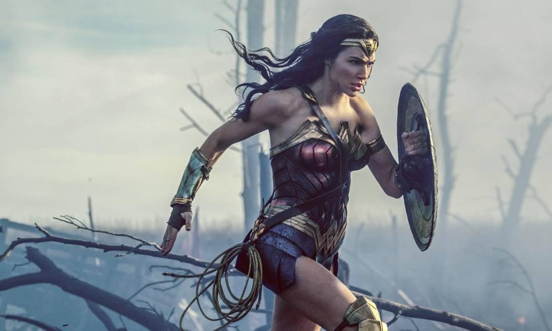 'Mulher-Maravilha' (2017) Custou: US$ 149 milhões Rendeu nos EUA: US$ 412,5 milhões E pelo mundo: US$ 409,3 milhões Foto: Clay Enos / AP