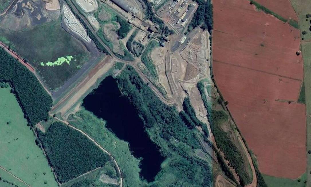 Mineradora declara situação de emergência em barragem de Araxá