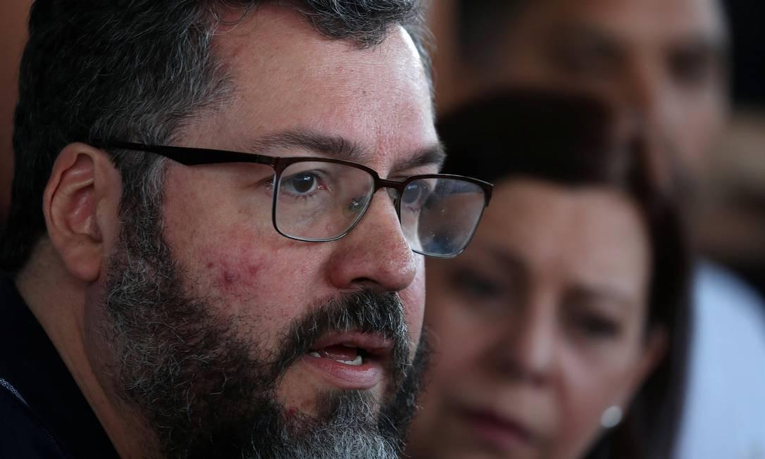 Ministro das Relações Foto: RICARDO MORAES / REUTERS