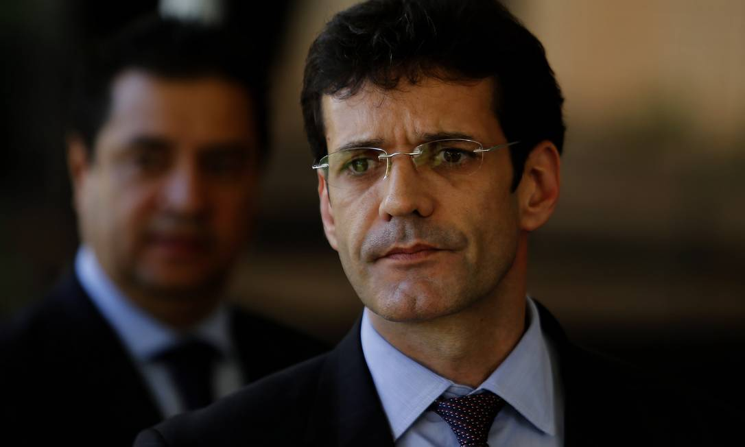 O ministro do Turismo, Marcelo Álvaro Antônio Foto: Jorge William / Agência O Globo
