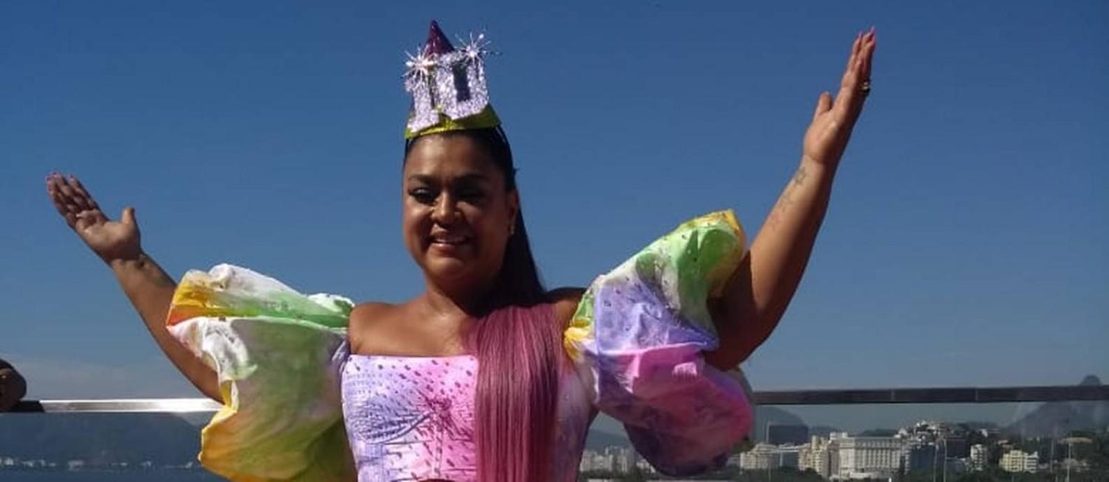 Este ano, Preta Gil cantará vestida de bolo de aniversário, em comemoração aos dez anos do Bloco da Preta Foto: Patrícia de Paula