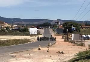Além dos desaparecidos, duas pessoas foram mortas e outras 35 feridas na região até agora Foto: Naiara Galarraga Gortázaz/Efecto Cocuyo