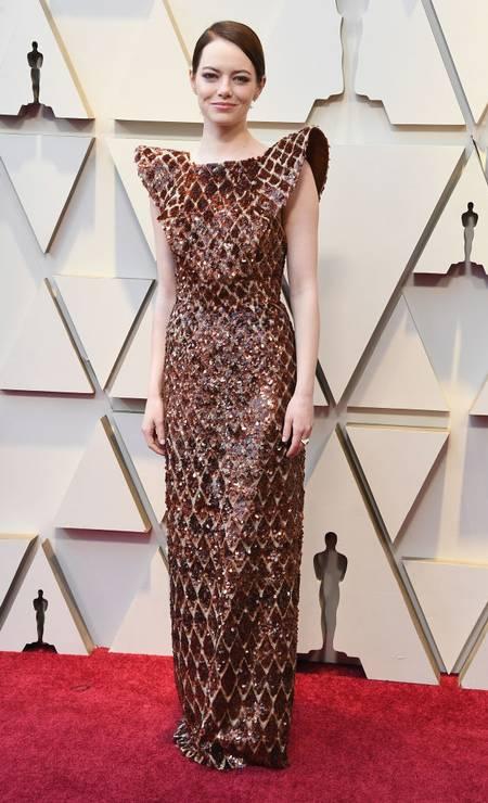 "Emma Stone, de ""A favorita"" Foto: Steve Granitz / WireImage"