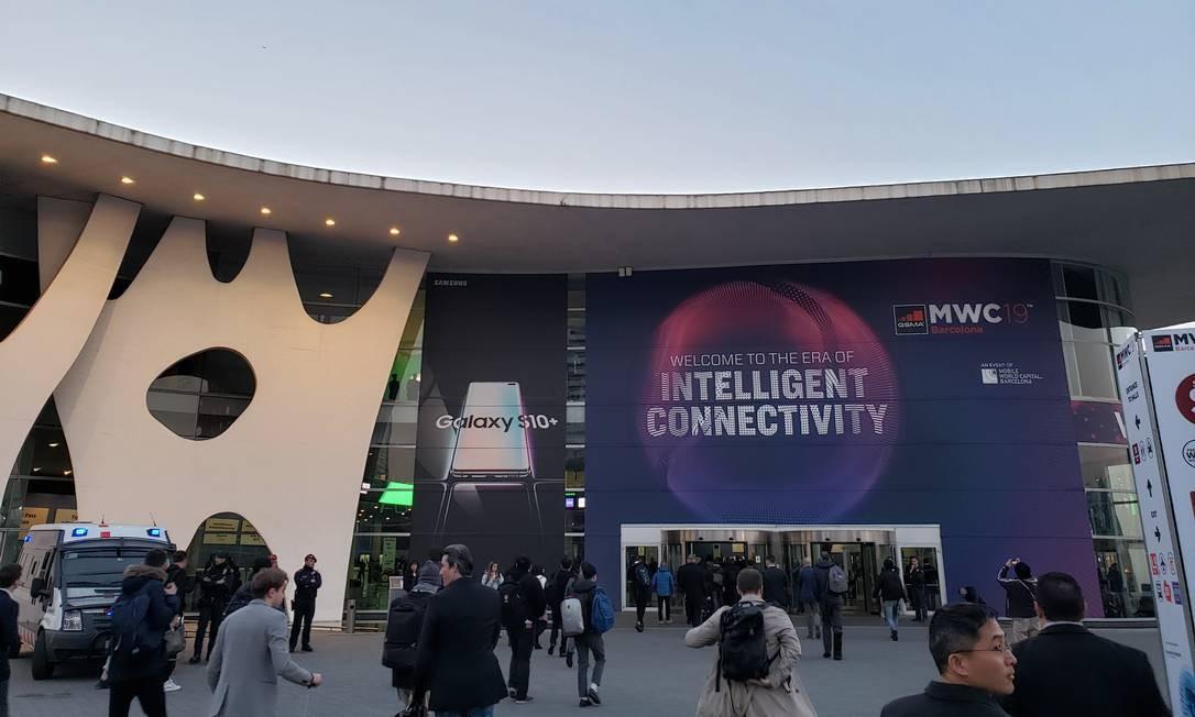 Mobile World Congress, maior congresso de telefonia móvel do mundo, começa nesta segunda, em Barcelona Foto: Bruno Rosa / .