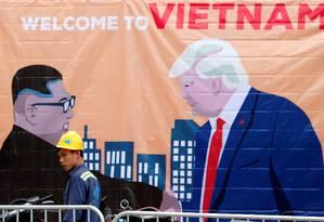 Vietnã se prepara para receber líderes Donald Trump, dos EUA, e Kim Jong-un, da Coreia do Norte Foto: KIM KYUNG-HOON 25-02-2019 / REUTERS