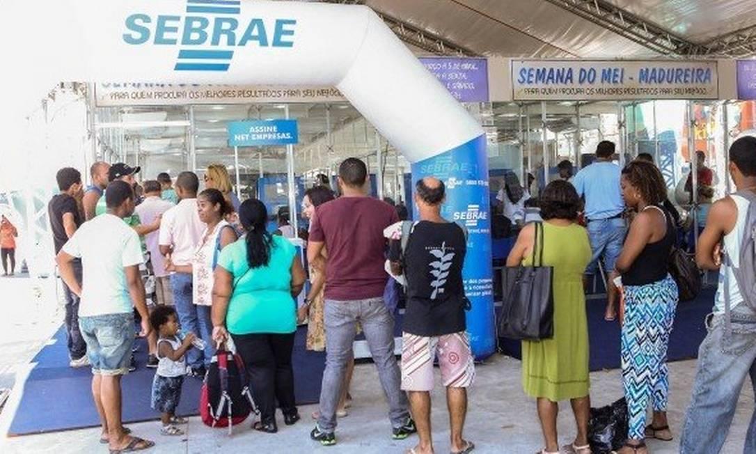 Cadastramento de microempreendedores individuais podem ser feitos em feiras do Sebrae ou pela internet Foto: / Arquivo