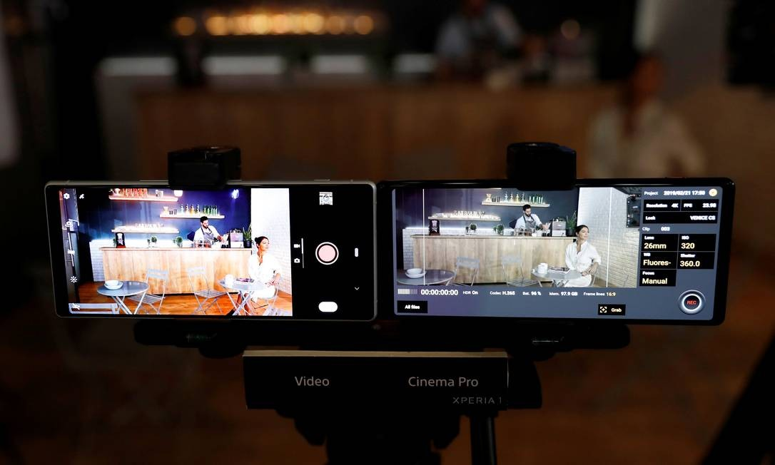 Apresentação do novo Sony Xperia Z1 Foto: RAFAEL MARCHANTE / REUTERS